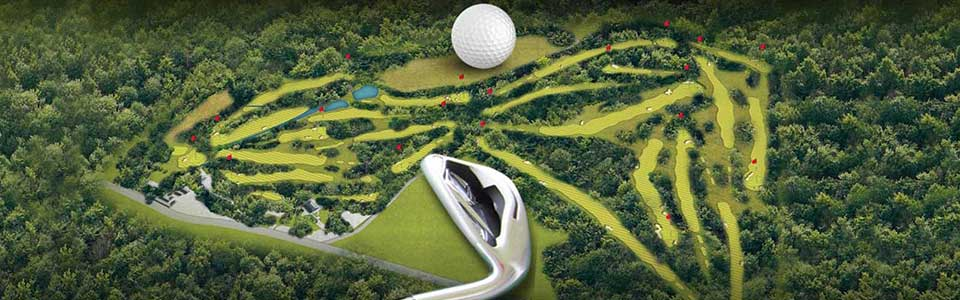 GOLF COURSE 3D VISUALIZATION SERVICES